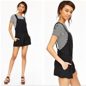 Alice & OU • Bamboo Romper in Black
